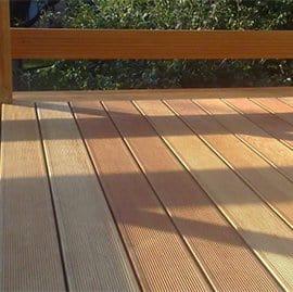 Deski tarasowe drewniane modrzew