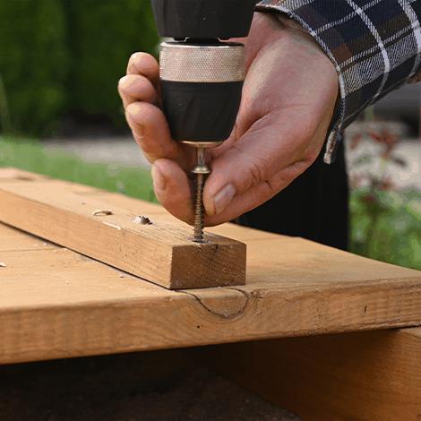 montaż domku ogrodowego