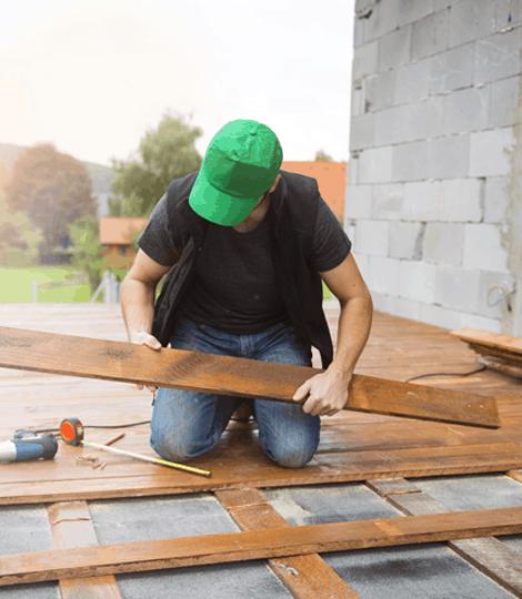montaż tarasu