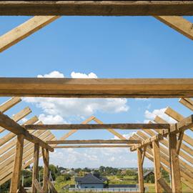 konstrukcja domku drewnianego