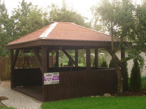 Domek ogrodowy we Wrocławiu