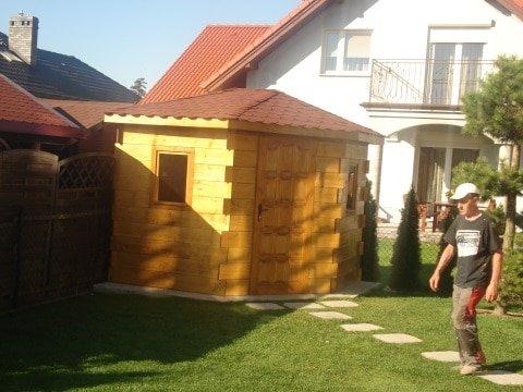 Domek ogrodowy w Kątach Wrocławskich